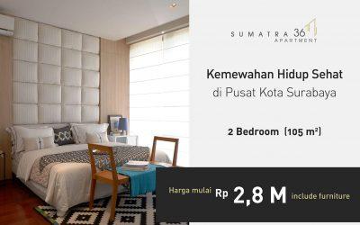 Kemewahan hidup sehat di pusat kota Surabaya